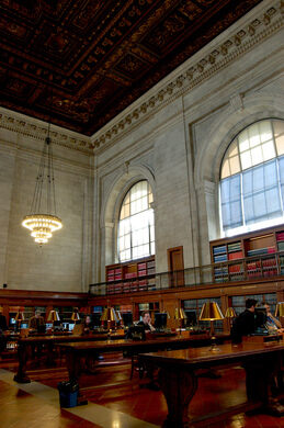 Pneumatic System of the New York Public Library – New York