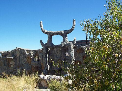 Thunder Mountain Monument – Imlay, Nevada - Atlas Obscura