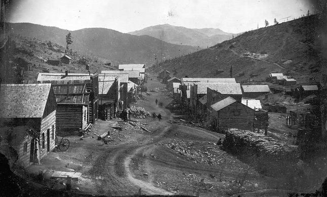 Nevadaville Ghost Town Central City Colorado Atlas