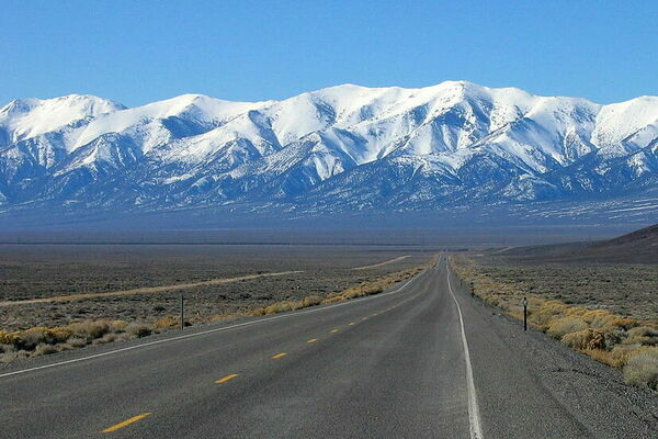 Take A Drive On The Official Loneliest Road in America