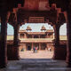 The abandoned Mughal fortress, Fatehpur Sikri.