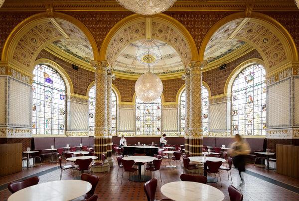 Victoria & Albert Museum Dining Rooms in London, England