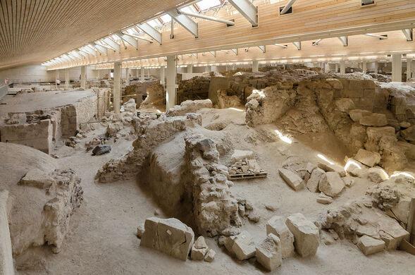 Prehistoric Town of Akrotiri – Santorini, Greece - Atlas Obscura