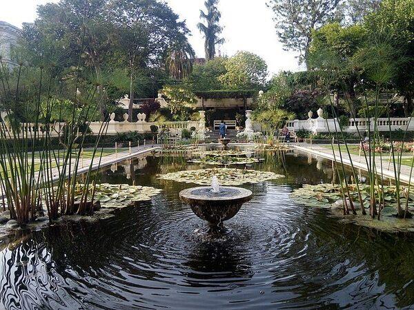 The Garden of Dreams in Kathmandu, Nepal