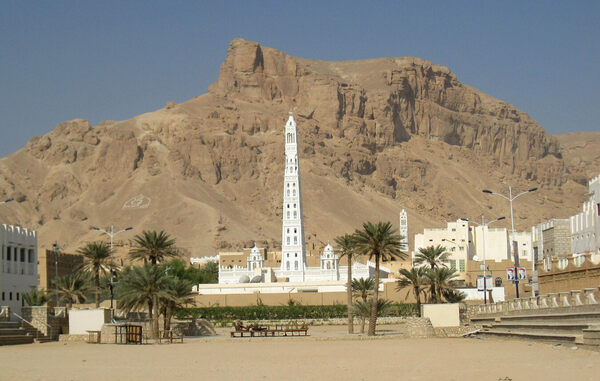 minaret  al muhdhar mosque tarim yemen atlas obscura