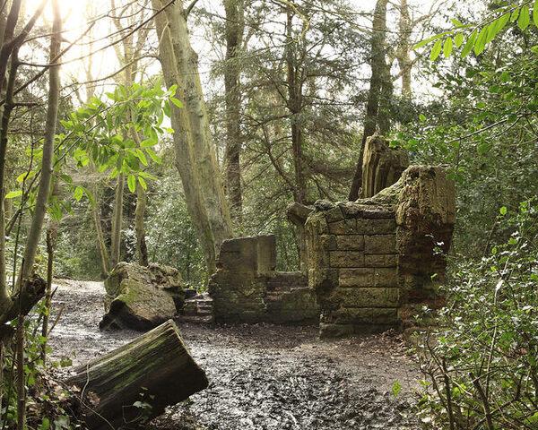 Ruined Victorian Folly London England Atlas Obscura