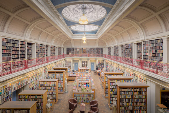 Image result for lit and phil library