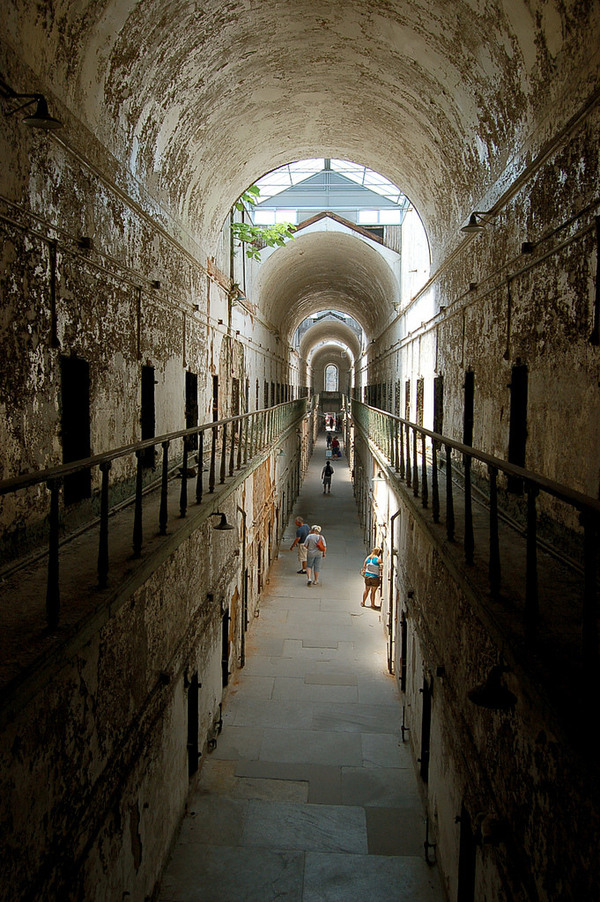 Eastern state penitentiary philadelphia pennsylvania for Pennsylvania hotel new york haunted