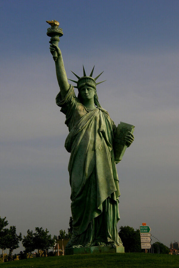 Statue Of Liberty, Colmar  Colmar, France - Atlas Obscura-7178