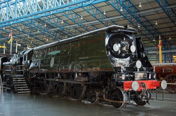 Winston Churchill's Funeral Train