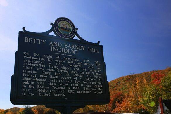 Betty and Barney Hill Memorials – Lincoln, New Hampshire