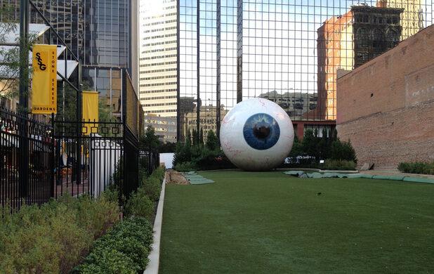 Eye' Sculpture – Dallas, Texas - Atlas Obscura