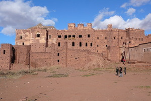 Kasbah as can be seen from afar