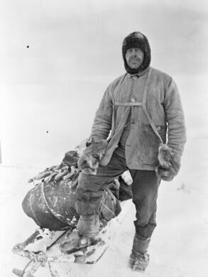 Captain Robert Falcon Scott Wikimedia (Creative Commons) & The Snow Tomb of Captain Robert Falcon Scott u2013 Antarctica - Atlas ...