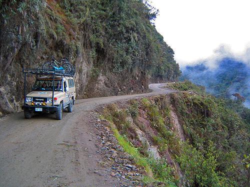 North yungas road nor yungas bolivia atlas obscura