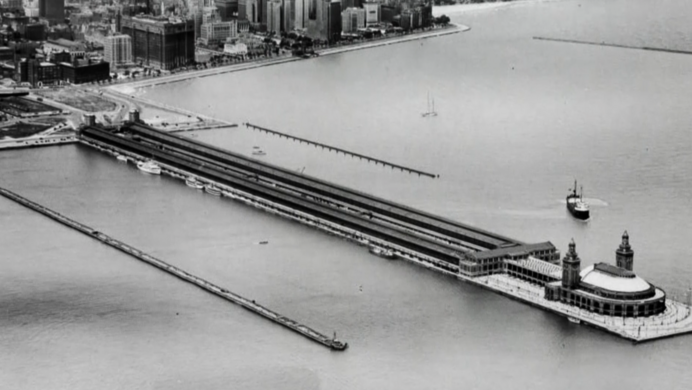 Aircraft Carriers of Navy Pier – Chicago, Illinois - Atlas Obscura