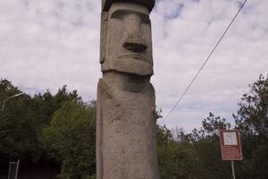 The Moai in Vitorchiano.