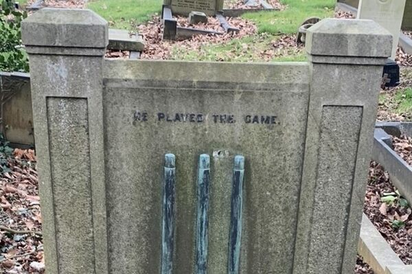 William Oates Sykes Grave in Horbury, England