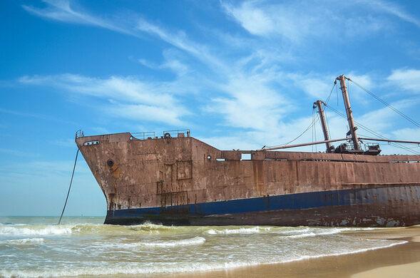Bay of Nouadhibou Ship Graveyard