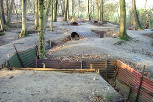 Trenches at Sanctuary Wood.