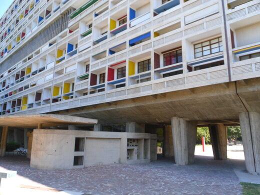 Unite D Habitation And The Radiant City Marseille France Atlas