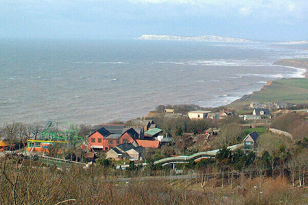 Blackgang Chine Isle Of Wight England Atlas Obscura