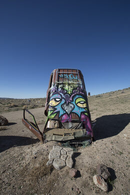 International Car Forest Of The Last Church Goldfield Nevada Atlas Obscura