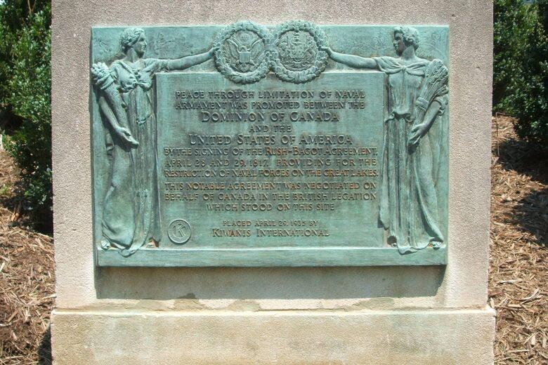 Rush-Bagot Monument