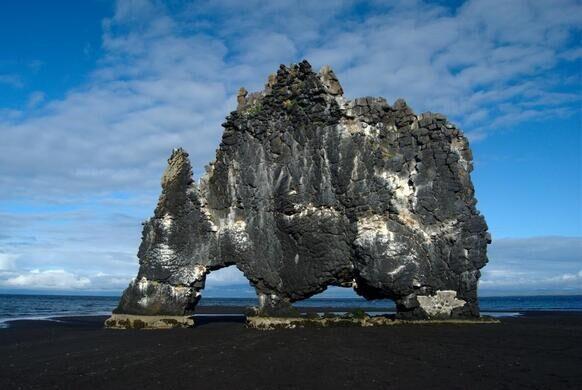 Hvítserkur – Iceland - Atlas Obscura