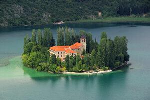 Visovac Monastery.