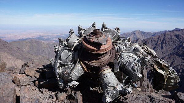 Tibherine East Crash Site in Morocco