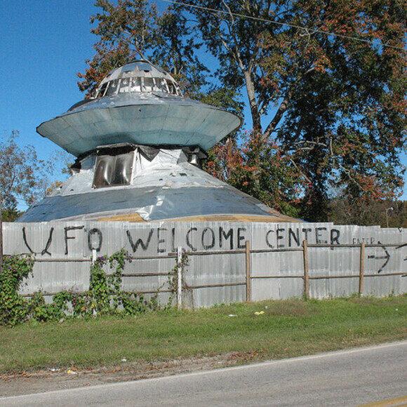 UFO Welcome Center – Bowman, South Carolina - Atlas Obscura
