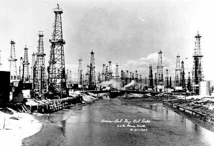 Marina Del Rey California Venice Beach Oil Fields