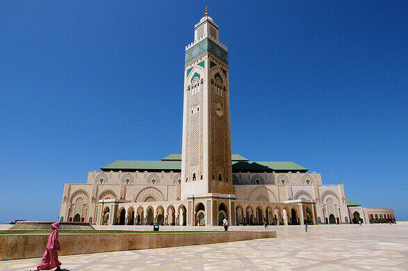 Image result for king hassan ii mosque