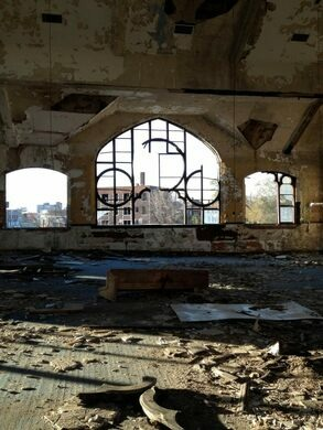 Abandoned abundant life christian center detroit for Abundant life beauty salon