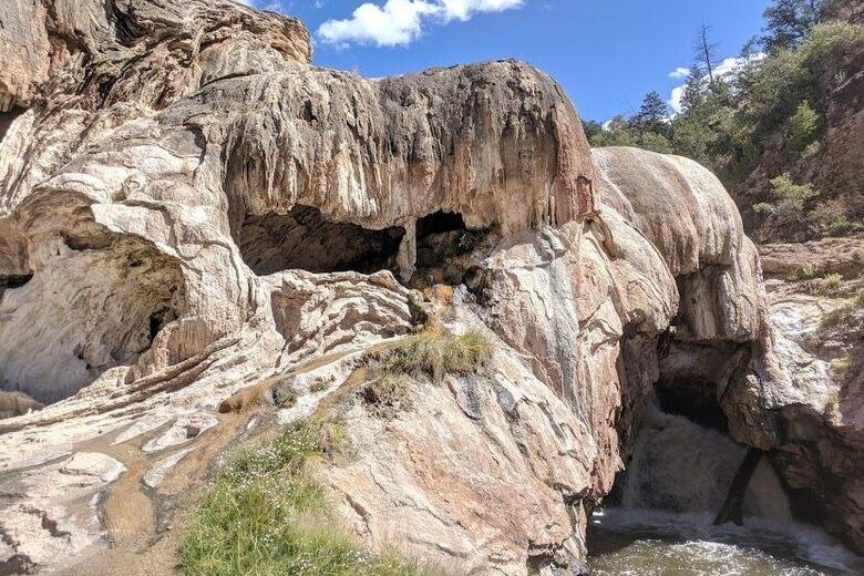 Jemez Springs Soda Dam