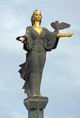 statue of sveta sofia sofia bulgaria atlas obscura