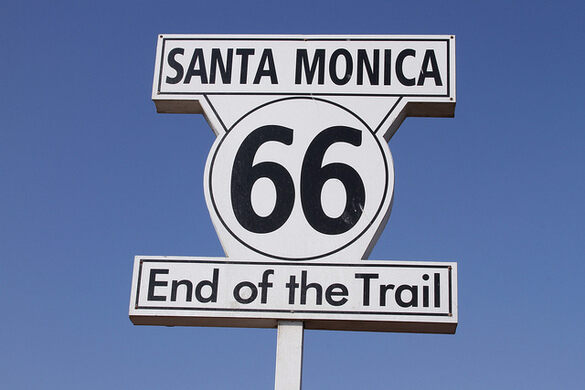 Route 66: End of the Trail – Santa Monica, California ... on