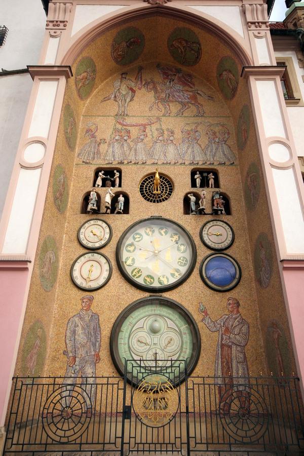 Olomouc S Communist Clock Olomouc Czech Republic
