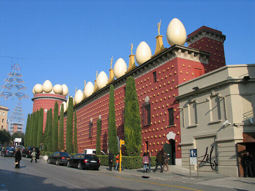 Museo Dali Barcelona.Dali Theatre And Museum Figueres Spain Atlas Obscura