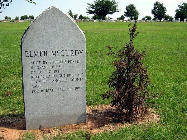 Grave Of Elmer Mccurdy Guthrie Oklahoma Atlas Obscura