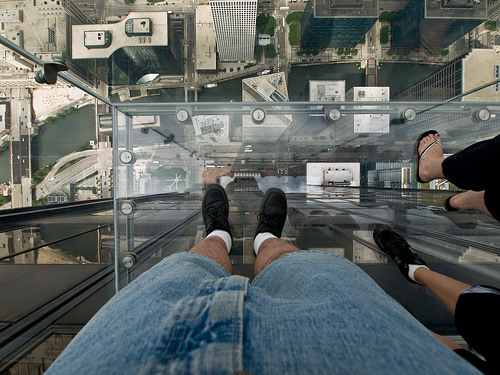 Sears Tower Glass Platform – Chicago, Illinois | Atlas Obscura