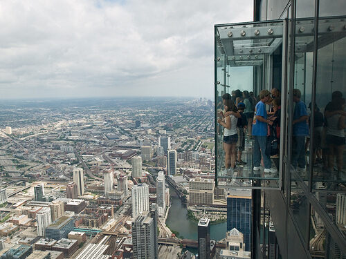 Willis Tower Glass Platform – Chicago, Illinois - Atlas ...