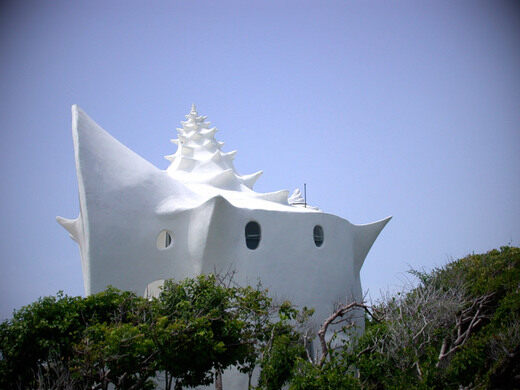 Conch Shell House Isla Mujeres Mexico Atlas Obscura - Conch-shell-house