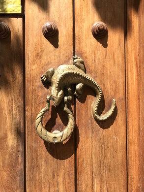 Door Knocker In Cartagena. Jose Salgado (used With Permission)