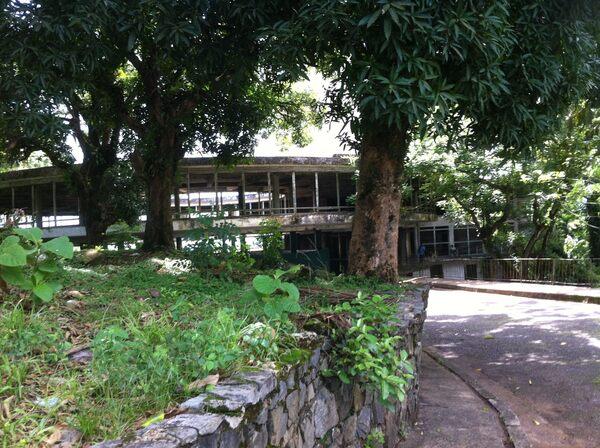 Italian Food Near Me Abandone Building Casa: Abandoned Ducor Hotel