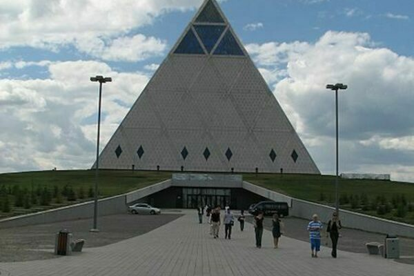Kazakhstan and the Illuminati in an Unfinished Metropolis - Atlas