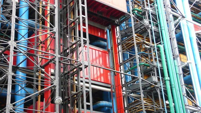 Centre Pompidou Paris France Atlas Obscura