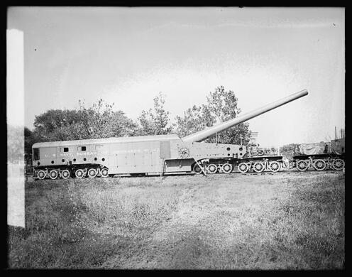 Navy Yard Railroad Gun – Washington, D C  - Atlas Obscura
