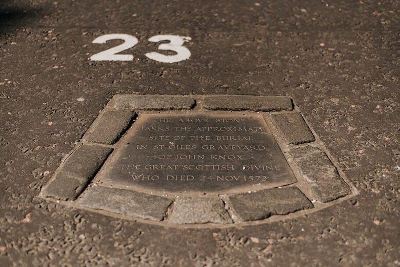 John Knox's Grave
